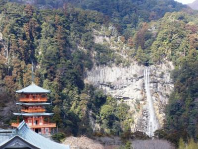 熊野那智大社より那智大滝