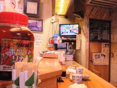 竹原店内カウンター