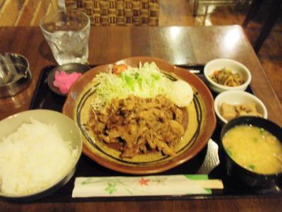 サンシーロ豚しょうが焼き定食650円2回目