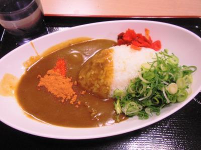 豆太郎カレーライス291円ネギ+31円