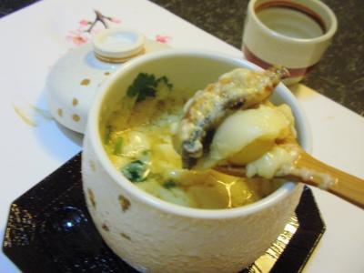 しら川茶碗蒸し鰻と銀杏