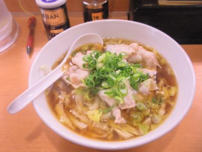 陽春豚肉陽春麺700円