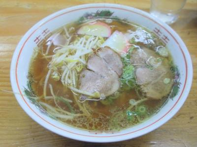 千成餅食堂山科店中華そば450円