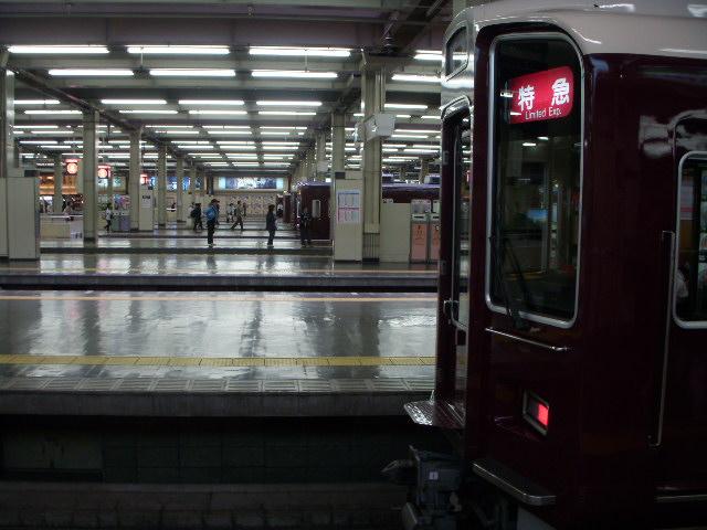 阪急梅田駅9号線