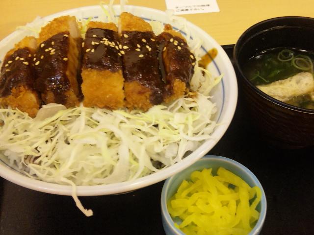 味噌かつ丼定食