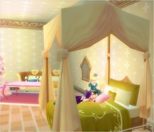 LHの部屋はこんな感じらしい