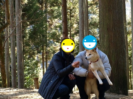 4歳の家族写真