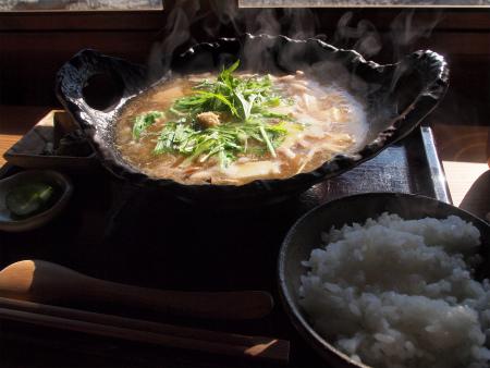 豆腐と豚肉のハリハリ鍋♪