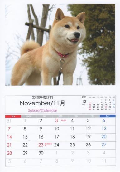 11月カレンダーB