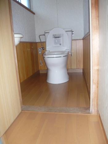 施行後 トイレ 縮