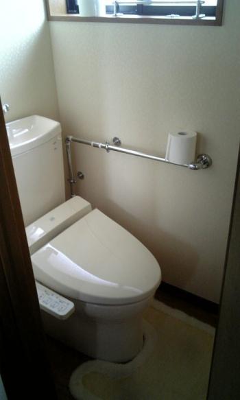 トイレ 縮