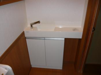 手洗器 縮