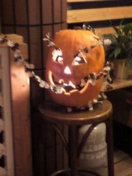 かぼちゃのおばけ 可愛いいでしょ^^