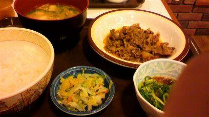 すき家のご飯☆安くて美味しいじゃん♪