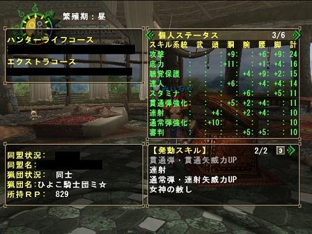 弓用装備スキル2