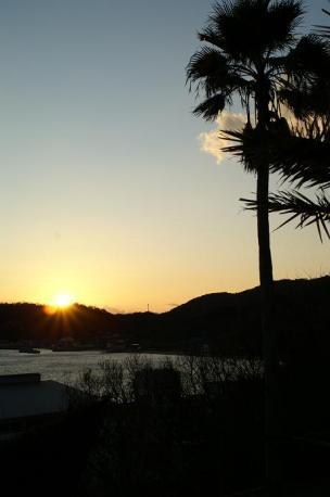 2009最後の夕陽