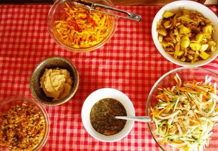 お料理の数々