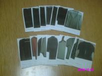 処分した衣服カード