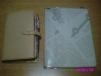 システム手帳と献立ノート