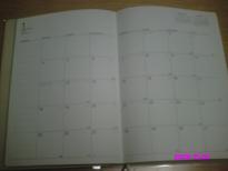 来年の手帳(カレンダー)