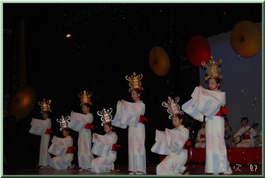 山鹿太鼓と灯篭踊り