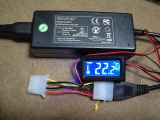 ACアダプター温度計