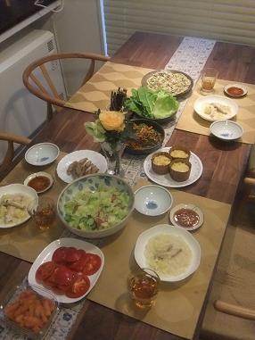 韓国料理①