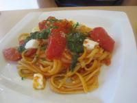 トマトのパスタ