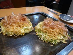 鶴橋風月のもだん焼き2