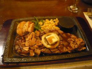 浅草橋ステーキレストラン「わかき」4