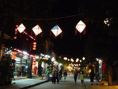 ホイアン旧市街(夜)の散策1