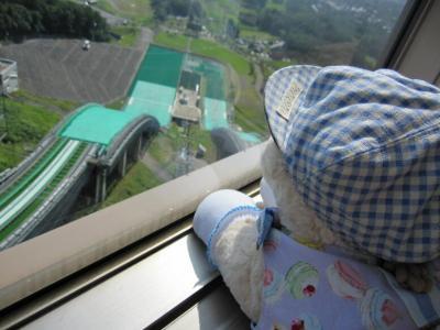 ジャンプ台タワー最上階タフィちゃん