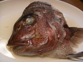 鯛の塩蒸し