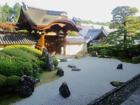 光明寺の石庭