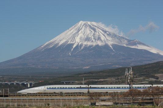 500系、富士の山