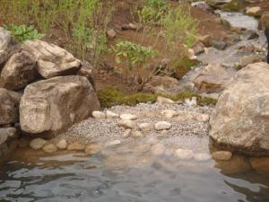韓国LGホタル再生地滝部分水源完成
