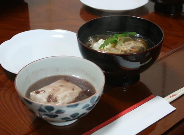 IMG_8705 雑煮とあんこ餅 W