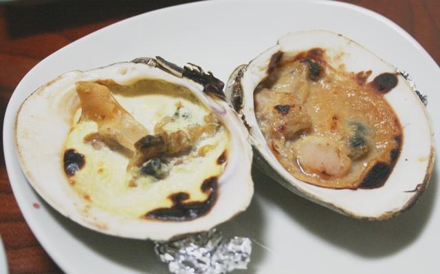 IMG_8866 ホンビノスガイ 味噌、マヨ焼き W