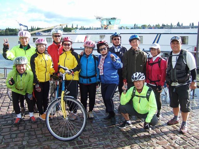 ドイツサイクルーズ記念写真