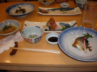 とびしま館の夕食