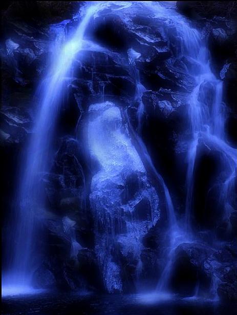 冬の滝22