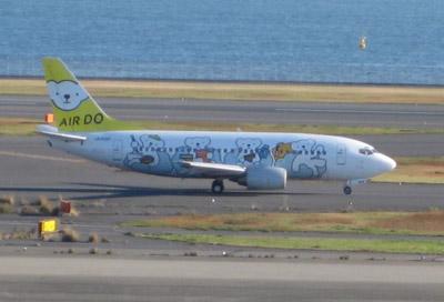 コアラ飛行機