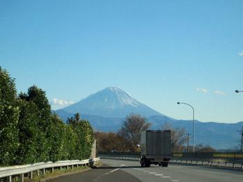 中央道からの富士山