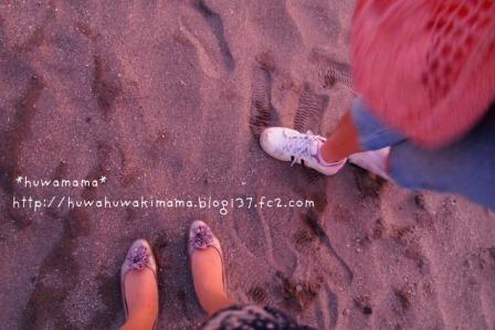 逗子砂浜20116