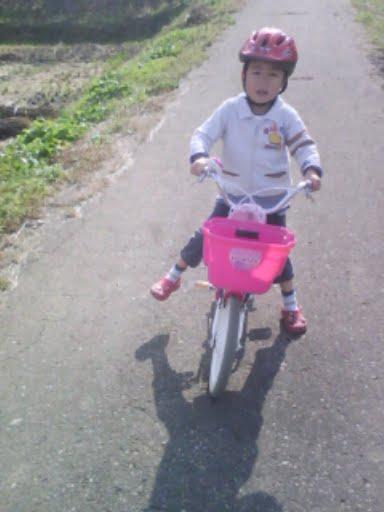 20091101nobu自転車練習