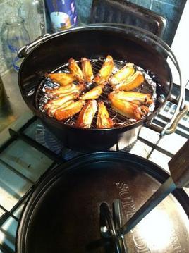 20110609ダッチオーブン燻製フタ