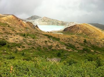 20110813白根山エメラルドグリーン