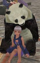パンダとチビ
