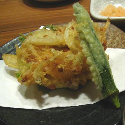 納豆の天ぷら@さい菜