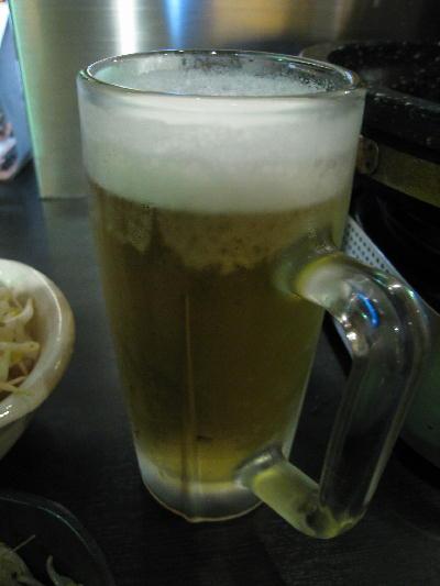 ビール@大黒屋
